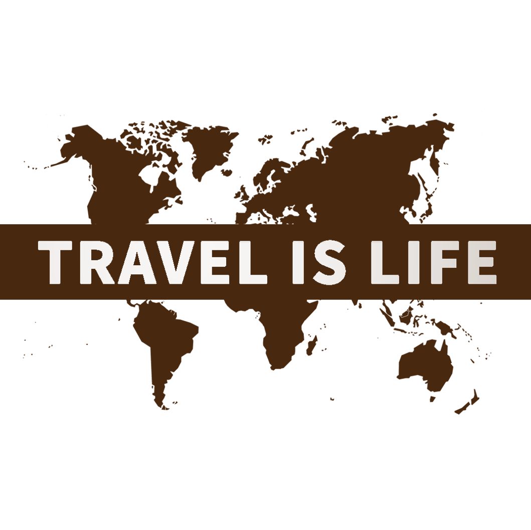 World Map Coloring Posters by Travel is Life